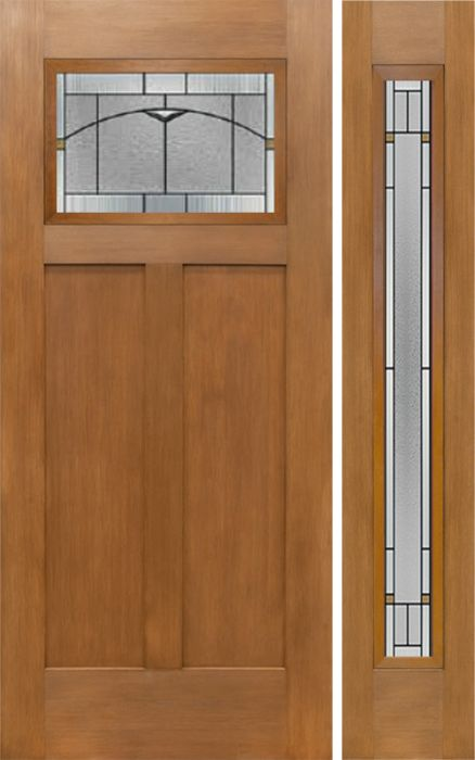 Craftsman Exterior Door 1 3 4 By Escon In With One Sidelite Built From Fibergl And The Grain Is Fir Ff621tp Ff601tp