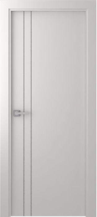 Prefinished Smart Pro 2v Polar White Modern Interior Single Door