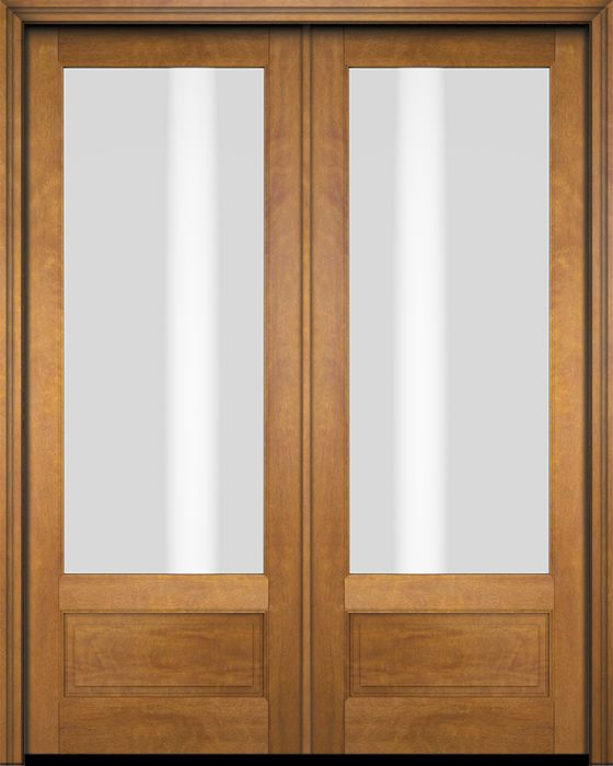 Transitional Exterior French Patio Interior Door 1 3 4 By Us Door More Inc In Double Door Made Of Wood And The Texture Is Mahogany G7501 Og 2