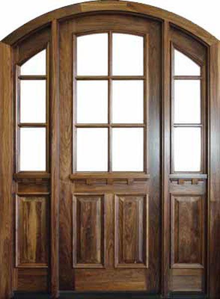 Arch Top Craftsman Exterior Door 1 3