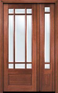 French Patio Door 1 3 4 By Aaw In Door With One