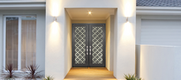 Modern Iron Entry Doors